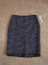 NWT Elie Tahari women's 2 skirt for career dress, lined, back slit
