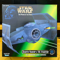 Darth Vader's Tie Fighter Star Wars Ships POTF Item 69590 Kenner 1996 NEW SEALED