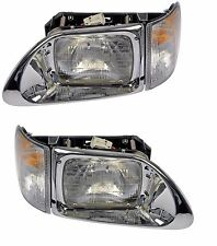 International 9200 9400 93-14 Set Of Left And Right Headlight Assembly Dorman