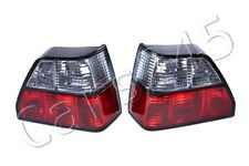 Rear Tail Lights Crystal Clear Turn Indicators SET L+R For VW Golf 2 Mk2 83-92