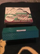 "Plasticville Freight Station Kit for American Flyer 3/16"" trains"