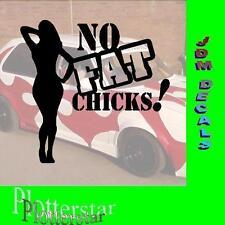 No FAT CHICKS nr6 Adesivo JDM OEM Adesivo POWER FUN like Shocker DUB