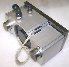 SMC MGQM 100-25 Linear Compact Guided Cylinder 100mm Diameter, 25mm Stroke