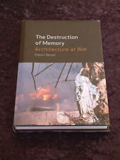 Robert Bevan - The Destruction of Memory HC/DJ architecture war genocide terror