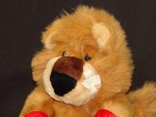 I LOVE YOU FIGHTER BOXING GLOVES BANDAGE RED BOXER SHORTS PLUSH VALENTINE LION