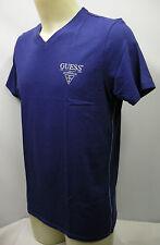 T-shirt maglietta V uomo man GUESS art.FH7U29 taglia L/50 col.U630 blu airone