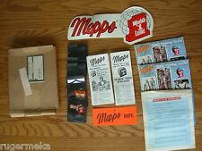 VINTAGE MEPPS FISHING STORE DISPLAY 1983 ORIGINAL BOX AND PAMPHLETS