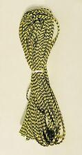 """GUDEBROD Butt Wind Rod Wrapping Braid 1/8"""" Yellow/Black 001/207 10 Yd"""