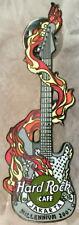 Hard Rock Cafe JAKARTA 2001 Millennium GUITAR PIN Silver - HRC Catalog #3777