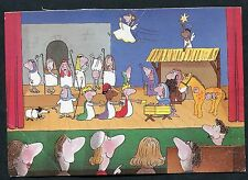 C1980's Illustrated Comic View of a Children Nativity Play