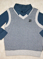 Mothercare Baby K Boys Polo Shirt & Tank Top Outfit Set Age 2-3 Years