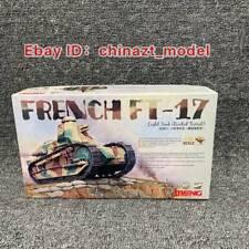 Meng Model TS-011 1/35 French FT-17 Light Tank (Riveted Turret)