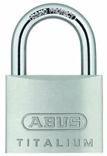 Abus 64Ti/50 C Kd Titalium Aluminum Alloy Keyd Different Padlock 2-Inch with 5/1
