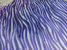 Purple Zebra PRINT Glitter Heat Transfer Vinyl 12x19 inch sheet