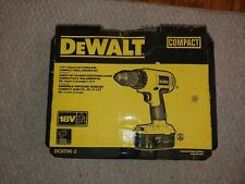 "DeWalt DC720 18V Cordless 1/2"""" Drill/Driver - Yellow"