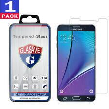 GLASAVE Tempered Glass Screen Protector For Samsung Galaxy Note 5