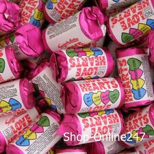 144 Retro Mini Love Hearts  Fab for Wedding Favours Party Bags Valentines Sweets