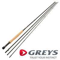 Greys New GR60 4 Piece Trout Single Handed Fly Fishing Rod AAA Grade All Models