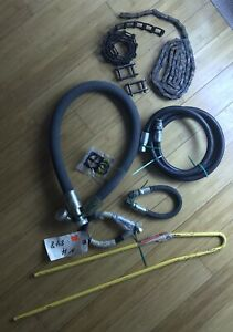 Miscellaneous New Holland Tractor Hydraulic Hoses, New Holland 848