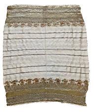 Rare Bulgarian Ottoman Wedding Handkerchief Heavy Gold Thread Published Taylor