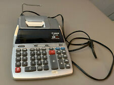 Canon MP11DX 12 Digit Color Printing Clock and Calemdar Calculator