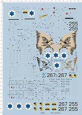 1/32 f-15I Ra'am eagle 255 Model Kit Water Decal