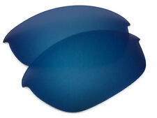 Polarized Dark Navy Blue Mirrored Sunglass Lenses for Oakley Half Jacket