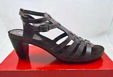 Sehr schöne ARA  Absatz Sandalette Leder braun Gr. 42 8 ungetragen