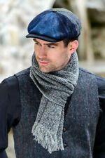Mucros Weavers Irish Wool Scholar Driving Flat Cap - Made in Ireland