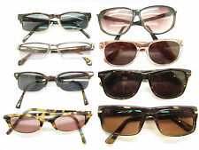SET of 8 HORN RIM FRAMES EYEWEAR  USED bulk lot    87115