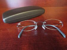 e6aab27839 CHARMANT Eyeglasses Gray Titanium 50-17-140 Rimless Metal Frame Nickel  Allergy