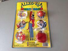 Vintage 80s scherzi di carnevale GIOPLAST sealed # magician tricks MOC