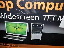 "Acer Aspire SA90 computer with keyboard and19"" widescreen TFT monitor"