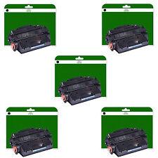 5 Cartridges for HP Laserjet Pro 400 M401A M401D M401DN M401DNE non-OEM 80X