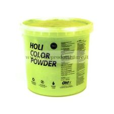 HOL5-AM Ohfx polvere holi party colorata gialla atossica lavabile 5kg
