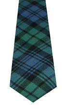 CAMPBELL CLAN ANCIENT TARTAN  PURE WOOL TIE by LOCHCARRON of SCOTLAND