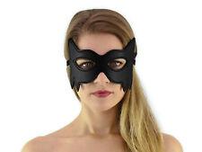 Augenmaske Cat Maske schwarz Katzenmaske Kitty Katzen Maske Catwoman Art.Nr.6109