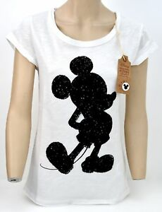 DISNEY WOMAN T-SHIRT SHORT SLEEVE CASUAL FREE TIME CREWNECK COTTON CODE 1002891