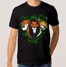 The Lion King Disney Cartoon T-shirt, Scar Tee, Men's Women's All Sizes