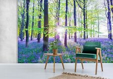 3D Lavender Forest O541 Wallpaper Wall Mural Self-adhesive Assaf Frank Fay