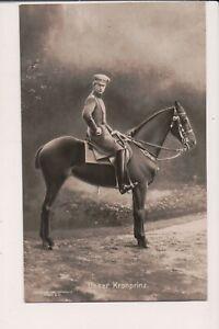 Vintage Carte postale Wilhelm, Allemand Couronne Prince de La prusse
