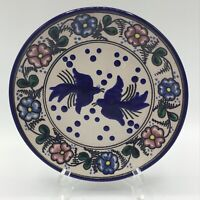 "Exquisite Vintage Talavera Traditional Pottery 8.25"" Plate Puebla Mexico"