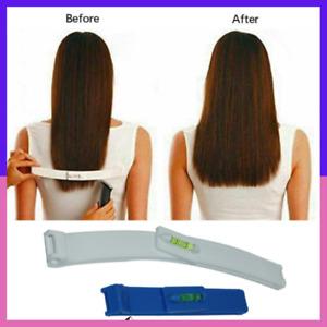 Professional Bangs Hair Trim Cutting Clip Comb Hairstyle Tool Crea 2pcs Cutting