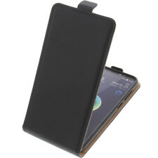 Funda Para HTC Desire 12 Protectora Teléfono Móvil con Tapa Negra