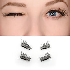 New 3D MAGNETIC Eyelashes Natural Looking Reusable Fake Lashes without Glue