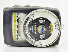 Vintage Gossen Lunasix 3 Light Meter