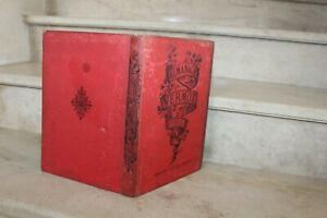 almanach vermot de 1903, cartonnage rouge d'édition
