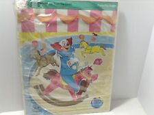 VINTAGE 1969 WHITMAN HANNA-BARBERA BOZO THE CLOWN FRAME TRAY PUZZLE #4530