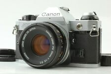 [Exc+++++] CANON AE-1 Program 35mm SLR with FD 50mm f/1.8 S.C. From JAPAN