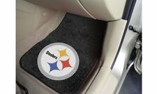 Pittsburgh STEELERS CARPET MATS for Car or Truck by FANMATS  Set of 2 NEW